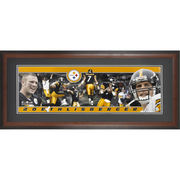 Ben Roethlisberger Pittsburgh Steelers Fanatics Authentic Framed Unsigned Panoramic Photograph