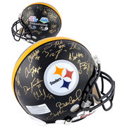 Pittsburgh Steelers Fanatics Authentic Autographed Super Bowl XL and XLIII Signed Helmet