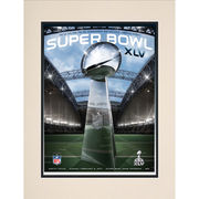 Fanatics Authentic 2011 Packers vs. Steelers 10.5