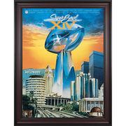 Fanatics Authentic 1980 Steelers vs. Rams Framed 36