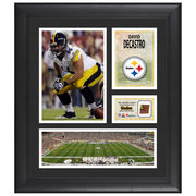 David DeCastro Pittsburgh Steelers Fanatics Authentic Framed 15