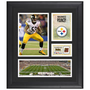 Maurkice Pouncey Pittsburgh Steelers Fanatics Authentic Framed 15