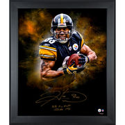 Hines Ward Pittsburgh Steelers Fanatics Authentic Framed Autographed 20