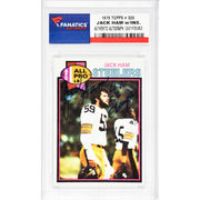 Jack Ham Pittsburgh Steelers Fanatics Authentic Autographed 1979 Topps #320 Card with 4 X SB Champs Inscription