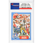 Jack Ham Pittsburgh Steelers Fanatics Authentic Autographed 1988 Swell #143 Card with HOF 88 Inscription