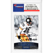 Rod Woodson Pittsburgh Steelers Fanatics Authentic Autographed 2012 Panini #138 Card with Go Steelers Inscription
