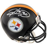 Hines Ward Pittsburgh Steelers Fanatics Authentic Autographed Riddell Mini Helmet
