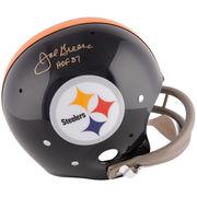 Joe Greene Pittsburgh Steelers Fanatics Authentic Autographed Black TK Suspension Helmet with HOF 87 Inscription