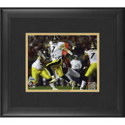 Ben Roethlisberger Pittsburgh Steelers Fanatics Authentic Framed Autographed 8