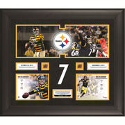 Ben Roethlisberger Pittsburgh Steelers Fanatics Authentic Framed 20