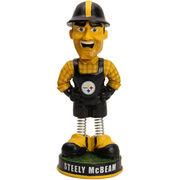 Pittsburgh Steelers Springy Legs Mascot Bobblehead