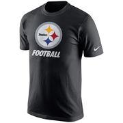 Pittsburgh Steelers Nike Facility T-Shirt - Black
