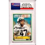Mel Blount Pittsburgh Steelers Fanatics Authentic Autographed 1983 Topps #357 Card with 4 X SB Champ Inscription