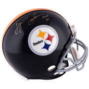 Lynn Swann Pittsburgh Steelers Fanatics Authentic Autographed Riddell Throwback Pro-Line Helmet with HOF 01 Inscription
