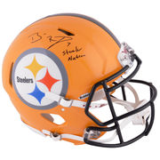 Ben Roethlisberger Pittsburgh Steelers Fanatics Authentic Autographed Riddell Pro-Line Speed Helmet with Steeler Nation Inscription