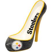 Pittsburgh Steelers Glitter Shoe Bottle Holder