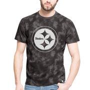 Pittsburgh Steelers '47 Blackstone T-Shirt - Black