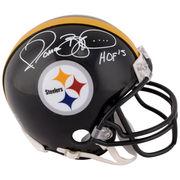 Jerome Bettis Pittsburgh Steelers Fanatics Authentic Autographed Pro Mini Helmet with HOF 2015 Inscription