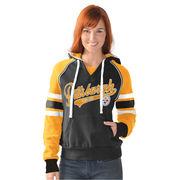 Pittsburgh Steelers G-III 4Her by Carl Banks Women's Shutout Pullover Hoodie - Black