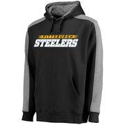 Pittsburgh Steelers NFL Pro Line Westview Pullover Hoodie - Black