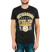 Pittsburgh Steelers Junk Food Kickoff T-Shirt - Black