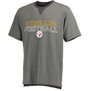 Pittsburgh Steelers NFL Pro Line Hector T-Shirt - Gray
