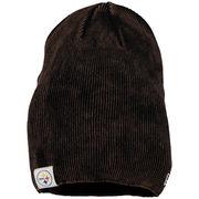 Pittsburgh Steelers New Era Women's Slouch Pick Knit Beanie - Black