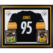 Jarvis Jones Pittsburgh Steelers Fanatics Authentic Framed Autographed Nike Game Jersey