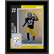 William Gay Pittsburgh Steelers Fanatics Authentic 10.5