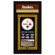 Pittsburgh Steelers 14.5'' x 27.5'' Banner Frame