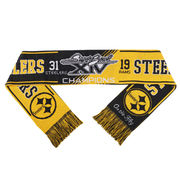 Pittsburgh Steelers Super Bowl XIV On the Fifty Acrylic Scarf