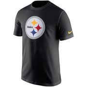 Pittsburgh Steelers Nike Essential Logo T-Shirt - Black