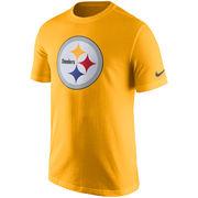 Pittsburgh Steelers Nike Essential Logo T-Shirt - Gold