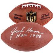 Jack Ham Pittsburgh Steelers Fanatics Authentic Autographed Pro Football with HOF 88 Inscription -