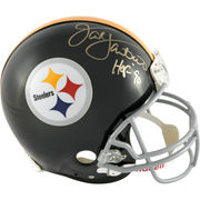 Jack Lambert Pittsburgh Steelers Fanatics Authentic Autographed Throwback Riddell Pro Line Authentic Helmet with HOF 90 Inscription