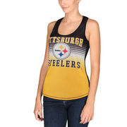 Pittsburgh Steelers Concepts Sport Women's Dynamic Racerback Tank Top - Black/Gold
