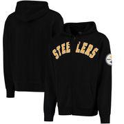 Pittsburgh Steelers '47 Striker Full-Zip Hoodie - Black