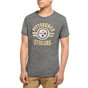 Pittsburgh Steelers '47 Tri-Blend State T-Shirt - Gray