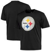 Pittsburgh Steelers Majestic Logo Tech T-Shirt - Black