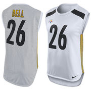 LeVeon Bell Pittsburgh Steelers Nike Women's Player Name & Number Sleeveless Top - White