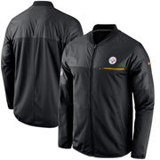 Pittsburgh Steelers Nike Elite Hybrid Performance Jacket - Black