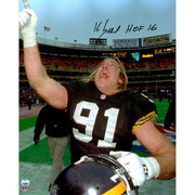 Kevin Greene Pittsburgh Steelers Fanatics Authentic Autographed 16