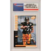 Hines Ward Pittsburgh Steelers Fanatics Authentic Autographed 1998 Score Rookie #252 Card with Steeler Nation Inscription