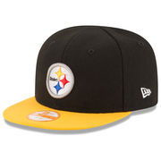 Pittsburgh Steelers New Era Infant My 1st 9FIFTY Snapback Adjustable Hat - Black/Gold