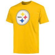 Pittsburgh Steelers NFL Pro Line Primary Logo T-Shirt - Gold
