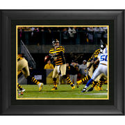 Ben Roethlisberger Pittsburgh Steelers Fanatics Authentic Framed Autographed 16