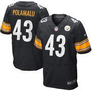 Troy Polamalu Pittsburgh Steelers Nike Elite Jersey - Black