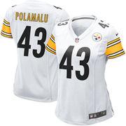 Troy Polamalu Pittsburgh Steelers Nike Women's Game Jersey - White