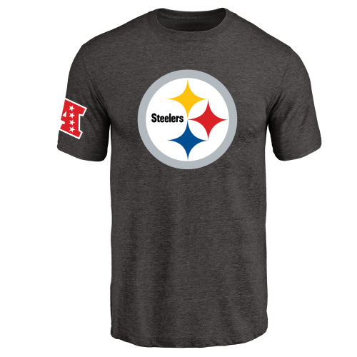 Men's Pittsburgh Steelers Design Your Own Tri-Blend T-Shirt