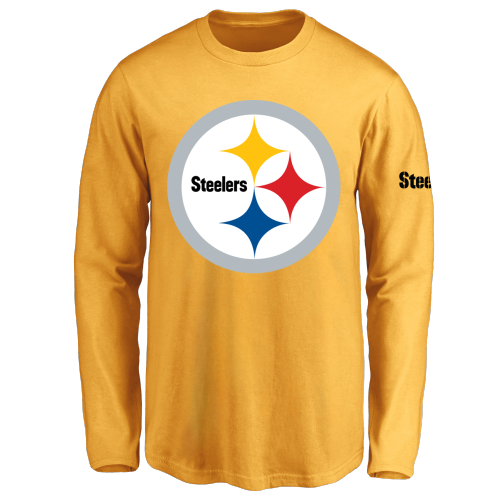 Youth Pittsburgh Steelers Design Your Own Long Sleeve T-Shirt